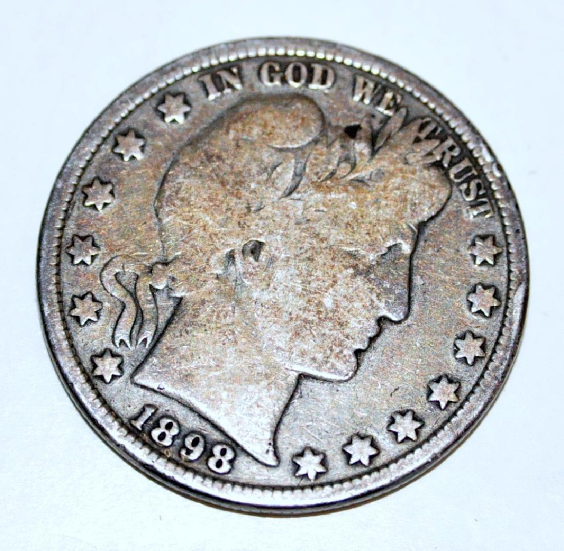 American silver half 1898