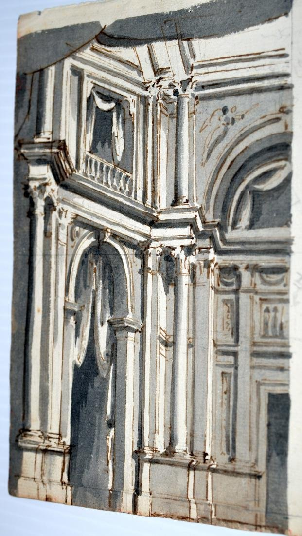 Architectural gouache Paolo Sala