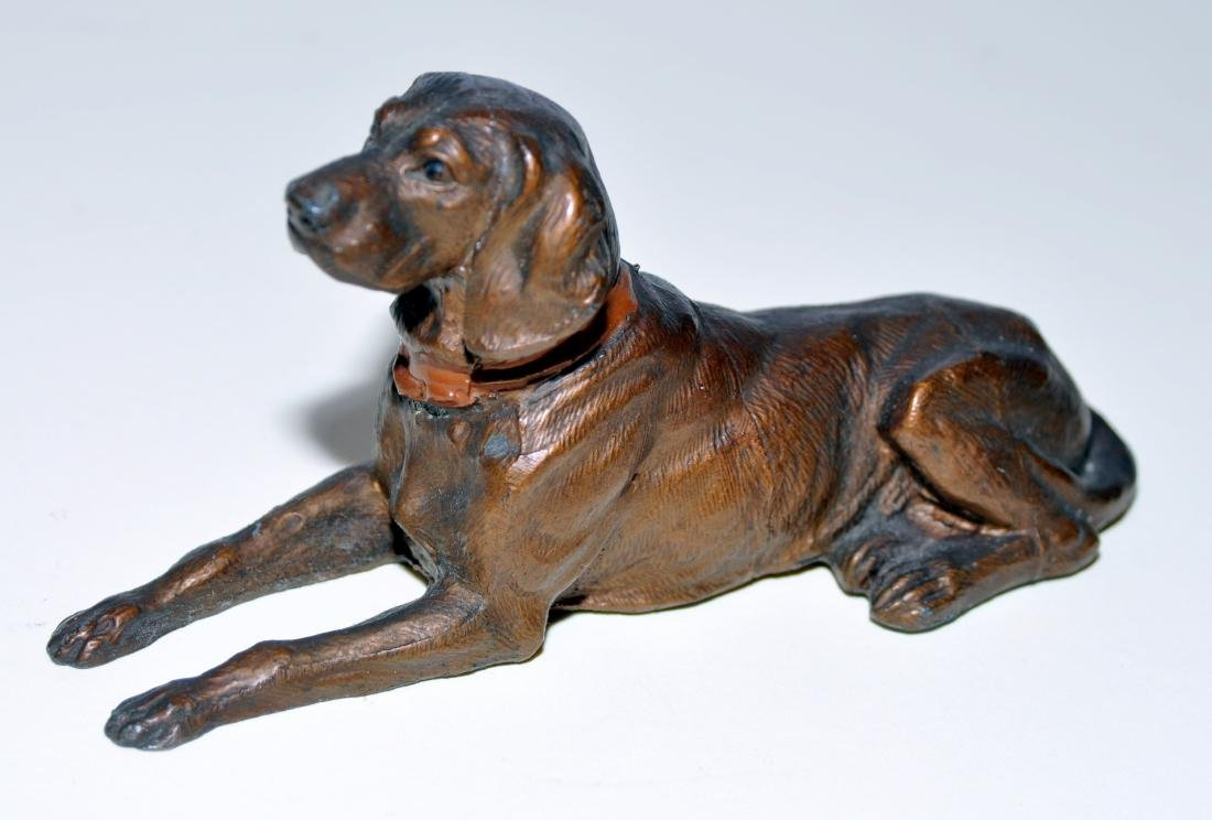 Hubley cocker spaniel paperweight