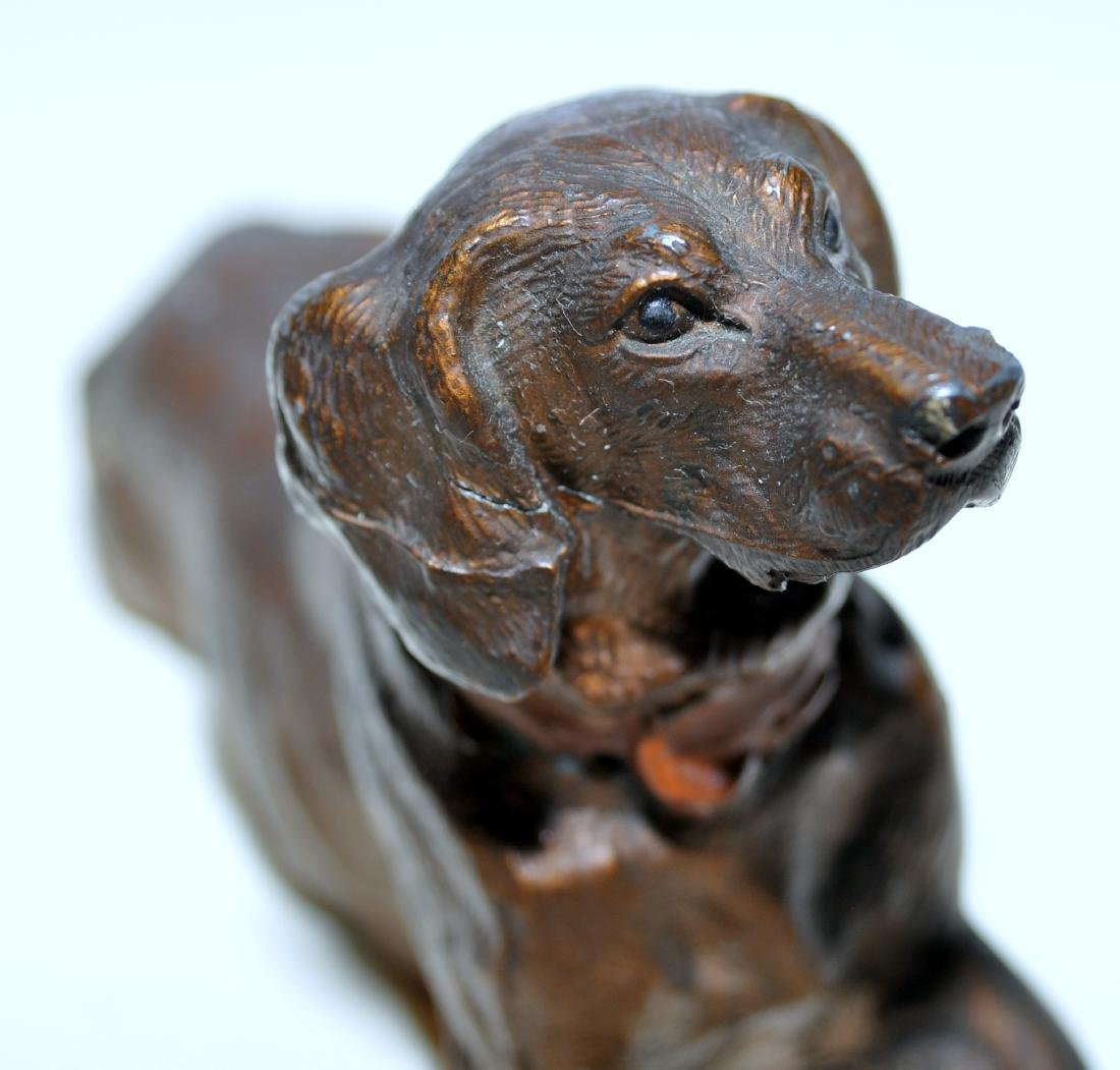 Hubley cocker spaniel paperweight - 2