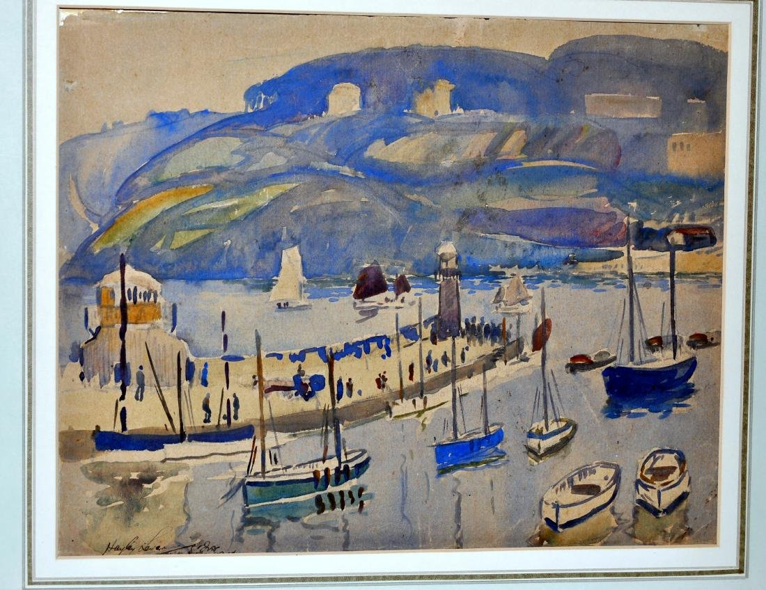 Hayley Lever watercolor Cornwall