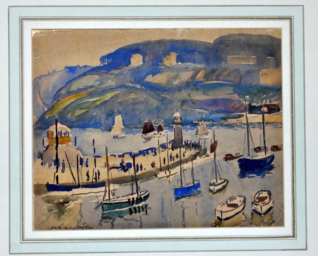 Hayley Lever watercolor Cornwall - 2