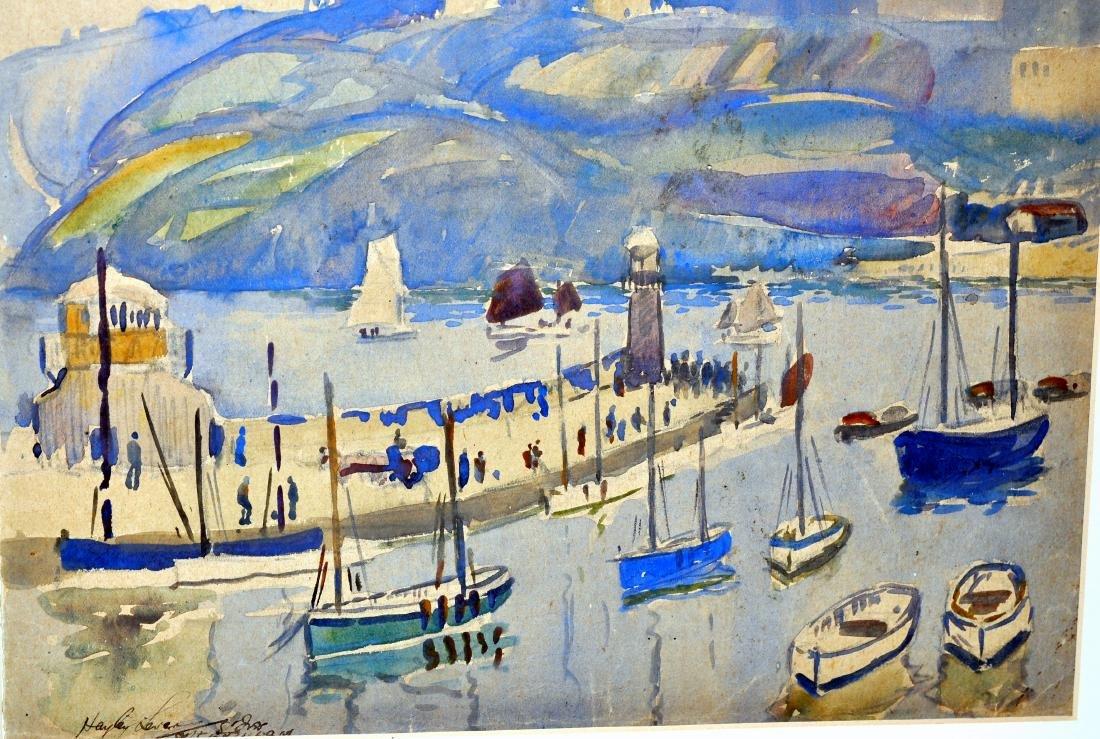 Hayley Lever watercolor Cornwall - 3