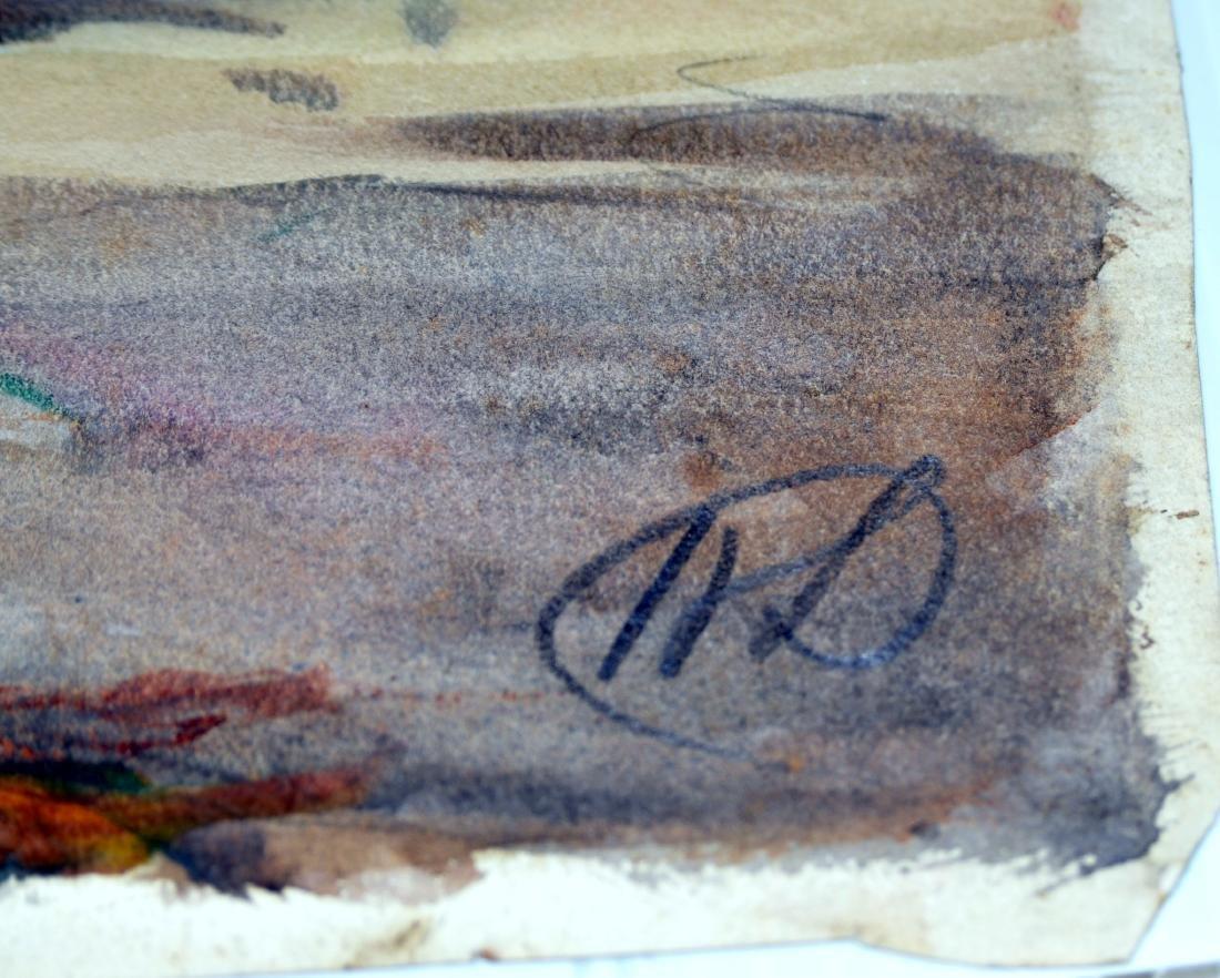 Hayley Lever watercolor Cornwall - 5
