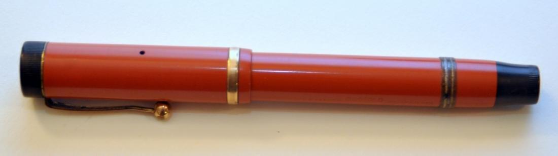 Parker Duofold red pen/pencil set vintage - 2