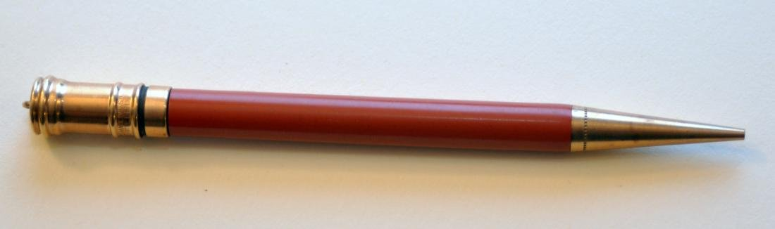 Parker Duofold red pen/pencil set vintage - 3