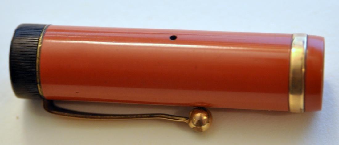 Parker Duofold red pen/pencil set vintage - 5