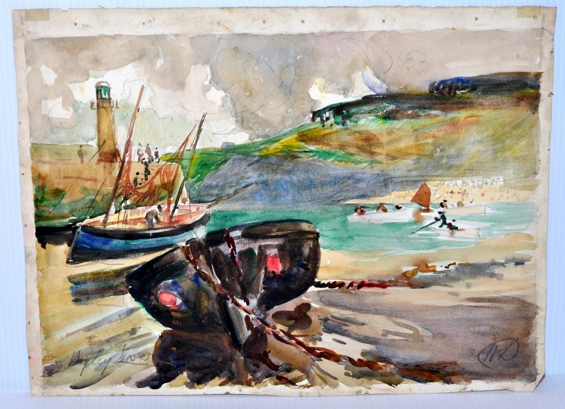 Hayley Lever watercolor England