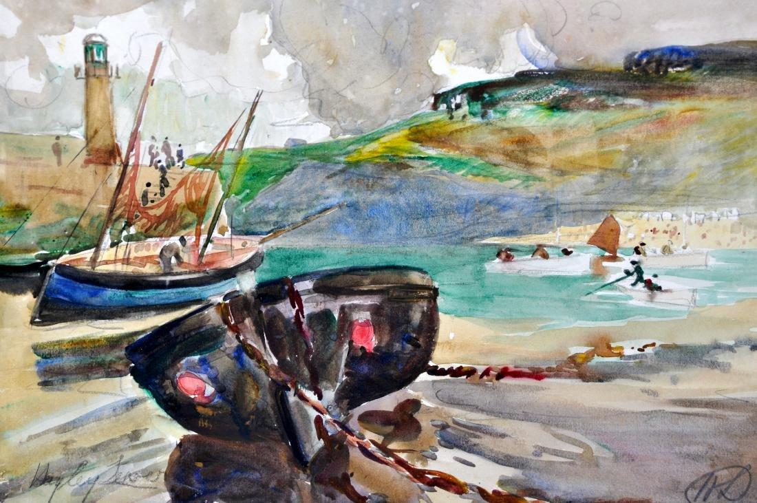 Hayley Lever watercolor England - 2