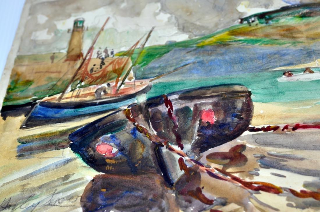 Hayley Lever watercolor England - 5