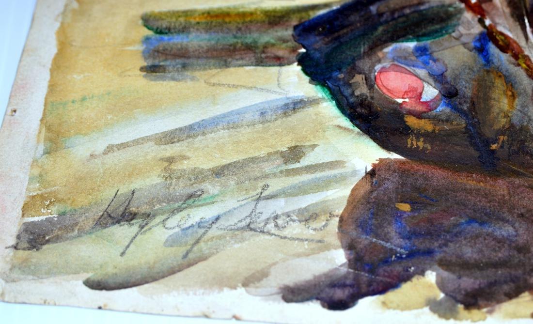 Hayley Lever watercolor England - 6