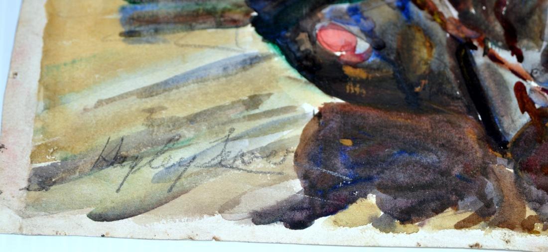 Hayley Lever watercolor England - 7