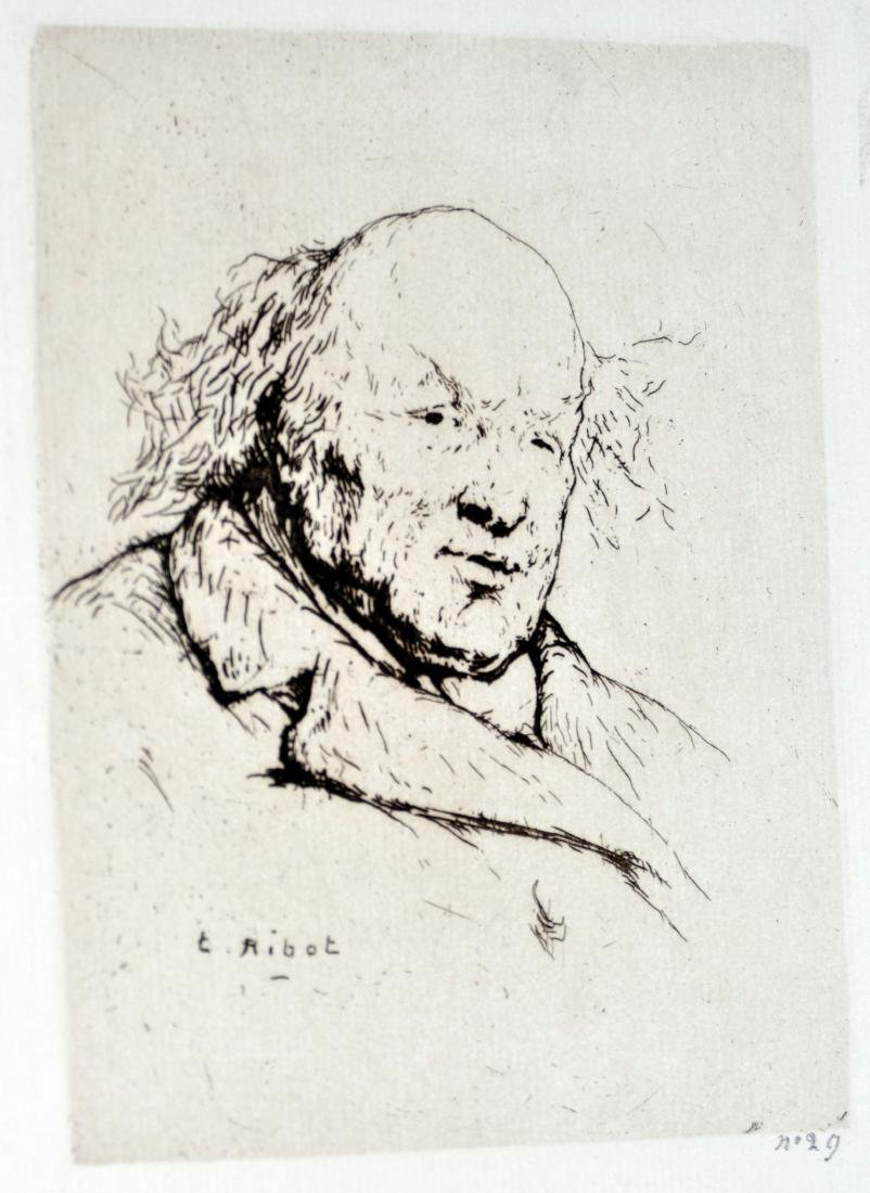 Theodule Auguste France Etching
