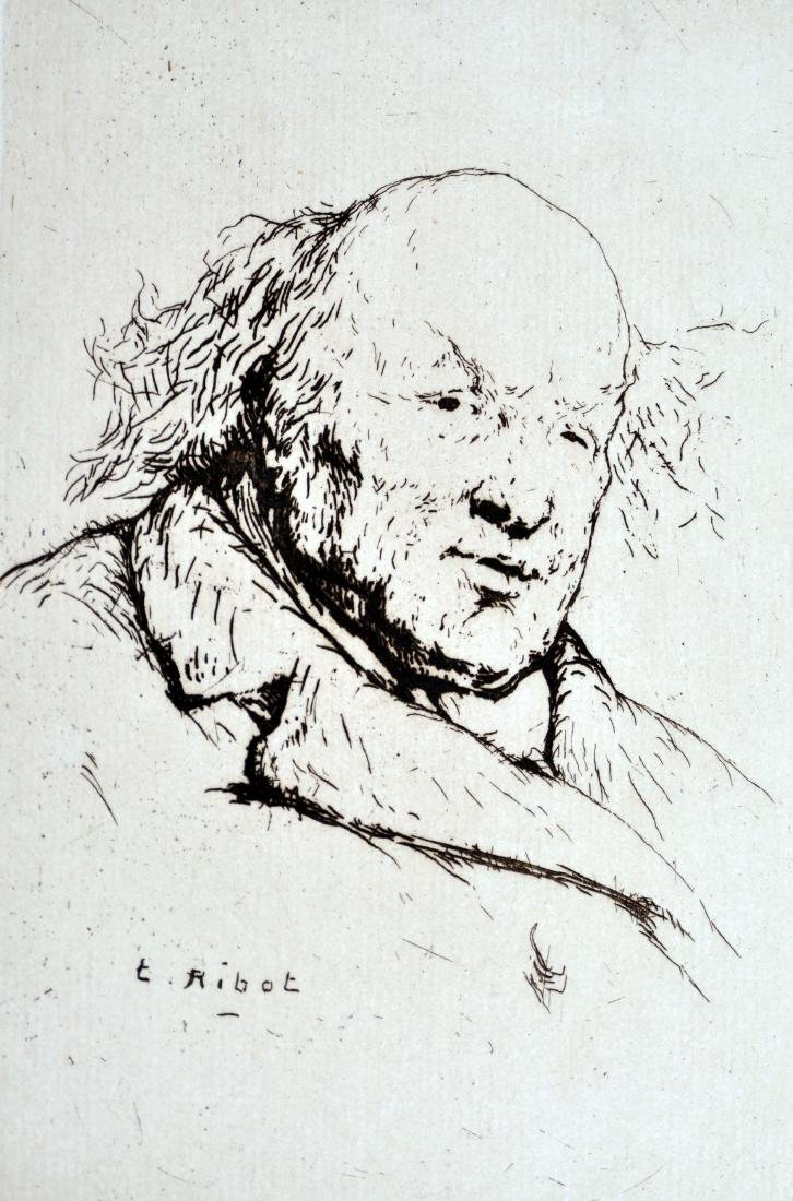 Theodule Auguste France Etching - 2