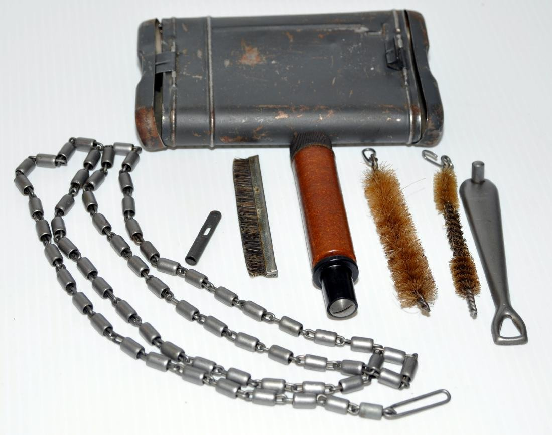 WWII rifle cleaning kit mauser