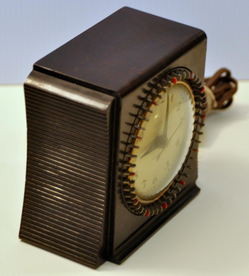Vintage Telechron bakelite clock - 2