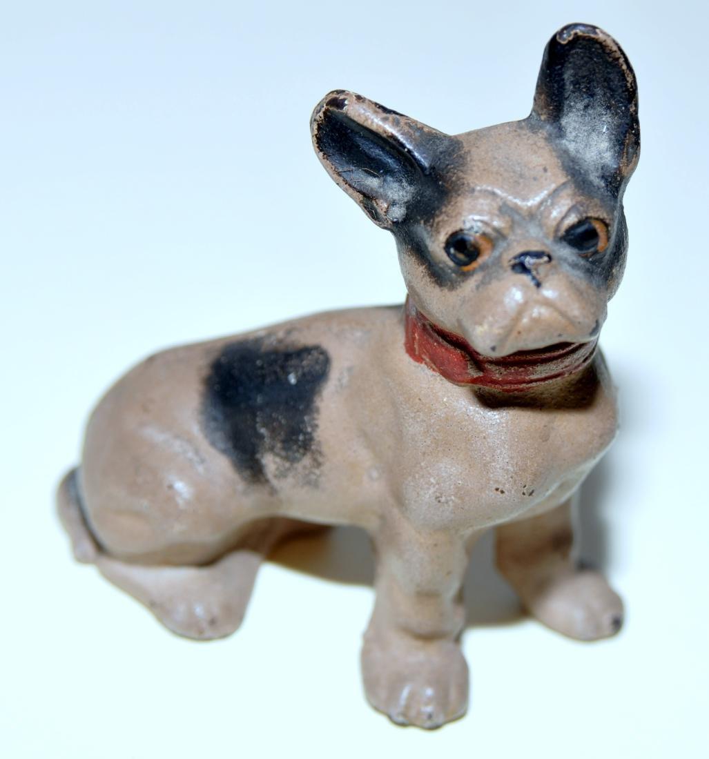Hubley cast iron bulldog French
