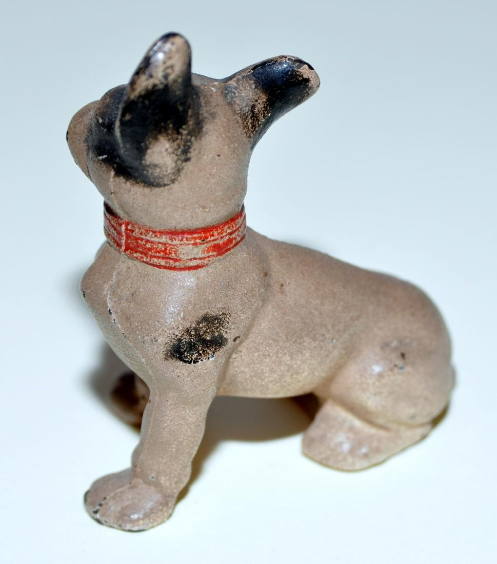 Hubley cast iron bulldog French - 3