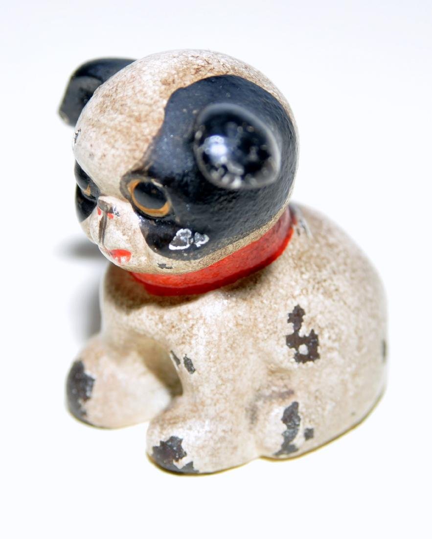 Antique Hubley Fido paperweight - 2