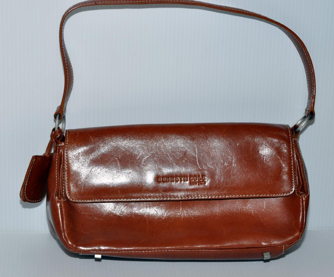 Kenneth Cole leather bag - 2