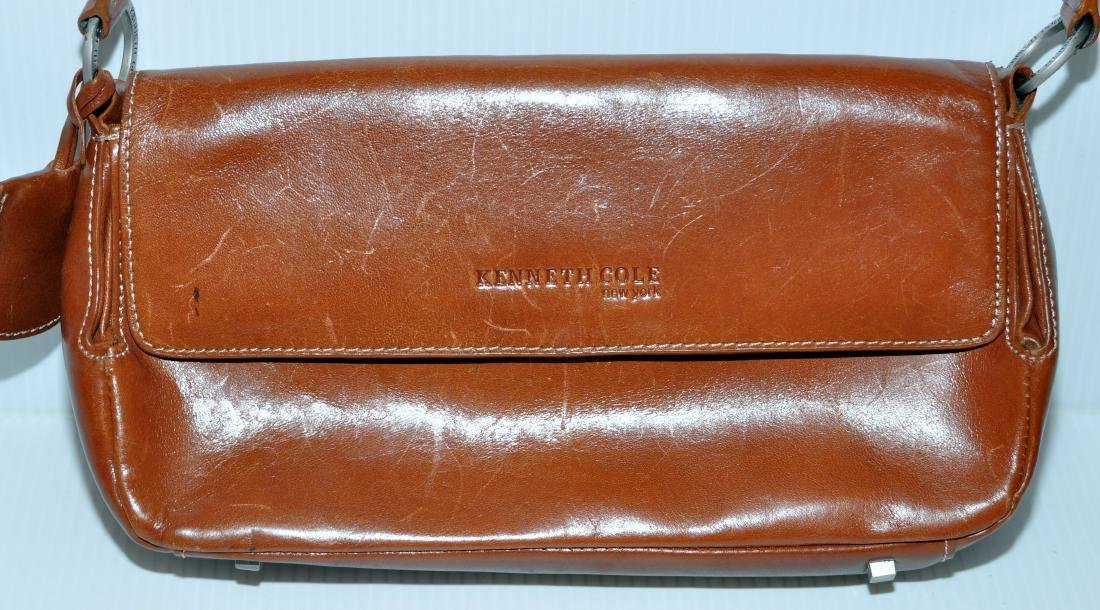 Kenneth Cole leather bag - 3