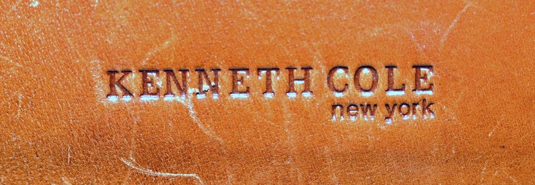 Kenneth Cole leather bag - 4