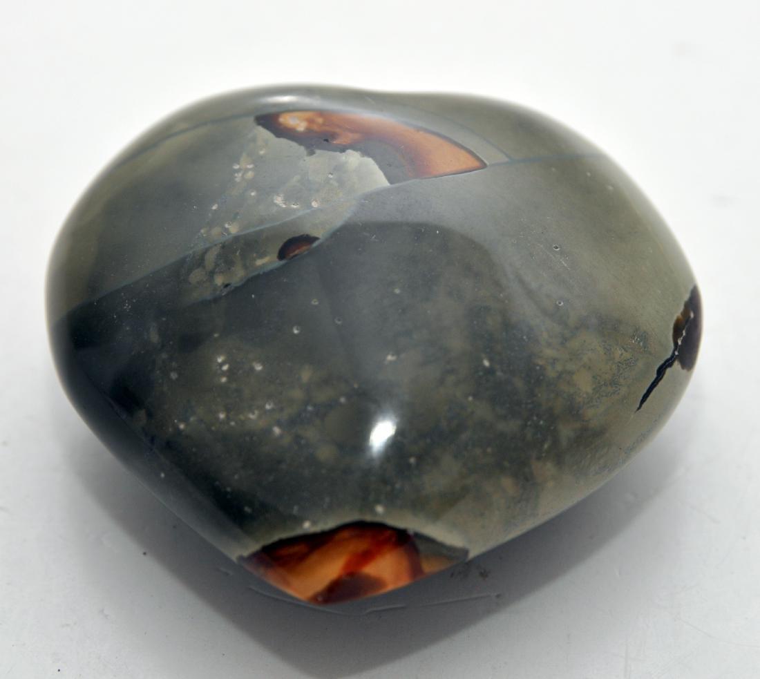 Heart septarian gemstone carving - 3