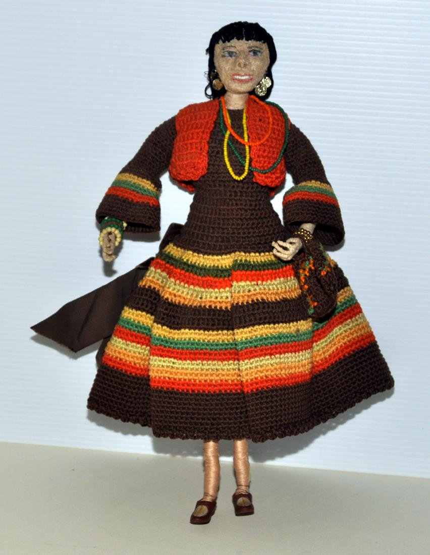 Doll -South American hand made