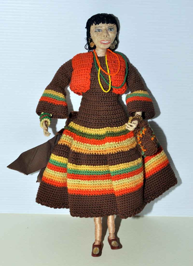 Doll -South American hand made - 2