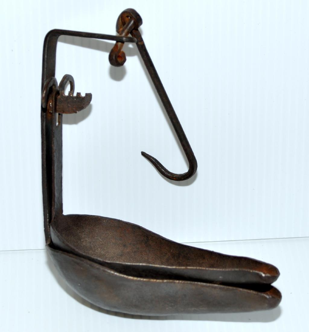 American lard lamp hanging vintage - 6