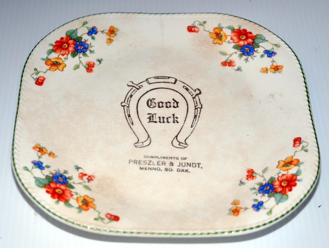 Menno SD advertising plate Preszler and Jundt