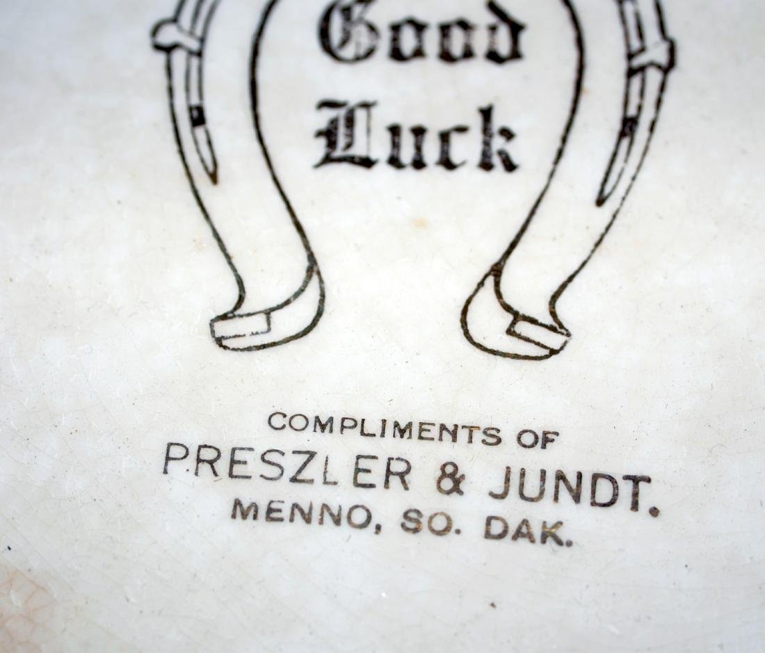 Menno SD advertising plate Preszler and Jundt - 3