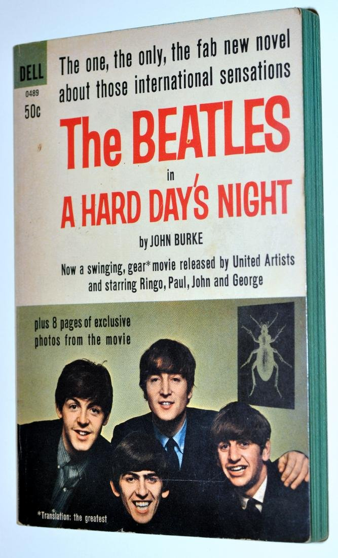Beatles book Dell 50cents