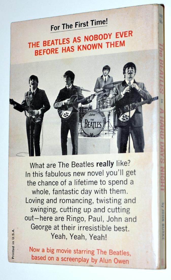 Beatles book Dell 50cents - 2
