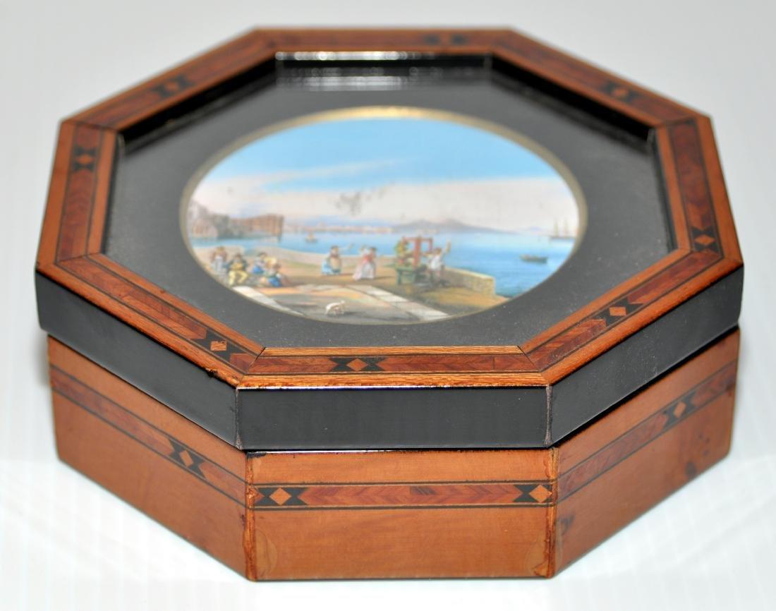 Hand painted vintage box - 3