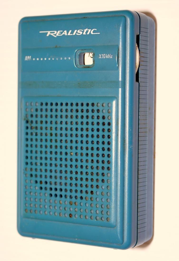 Realistic radio transistor portable works