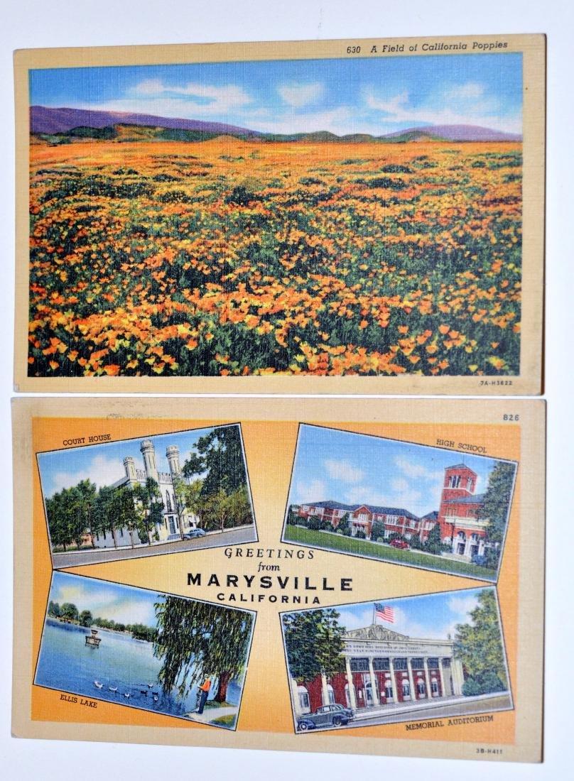 Vintage postcards California Yuba City - 2