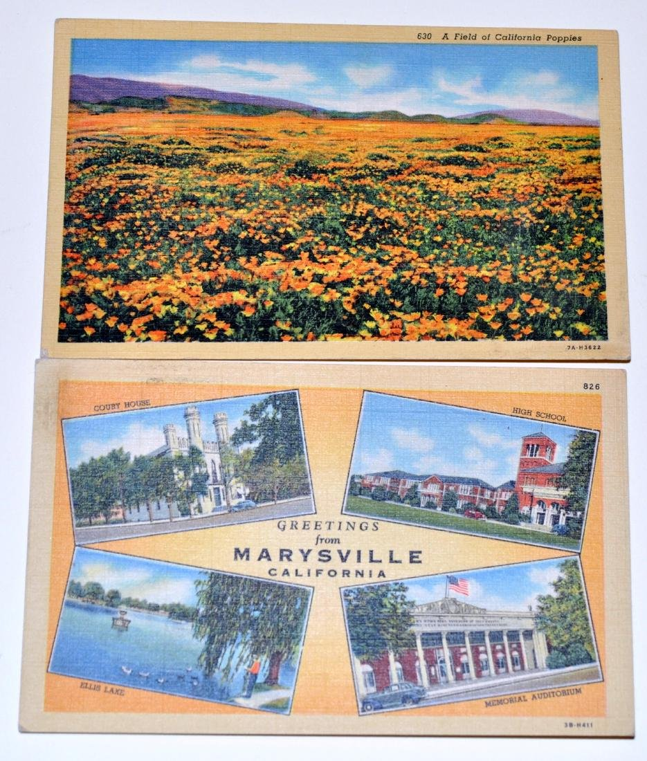 Vintage postcards California Yuba City - 3
