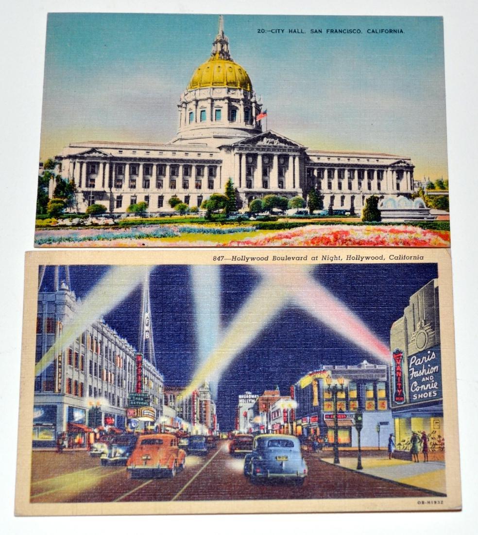 Vintage postcards California Yuba City - 4