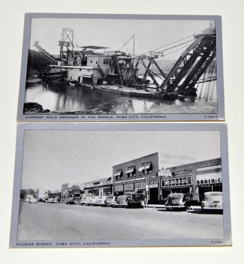 Vintage postcards California Yuba City - 5