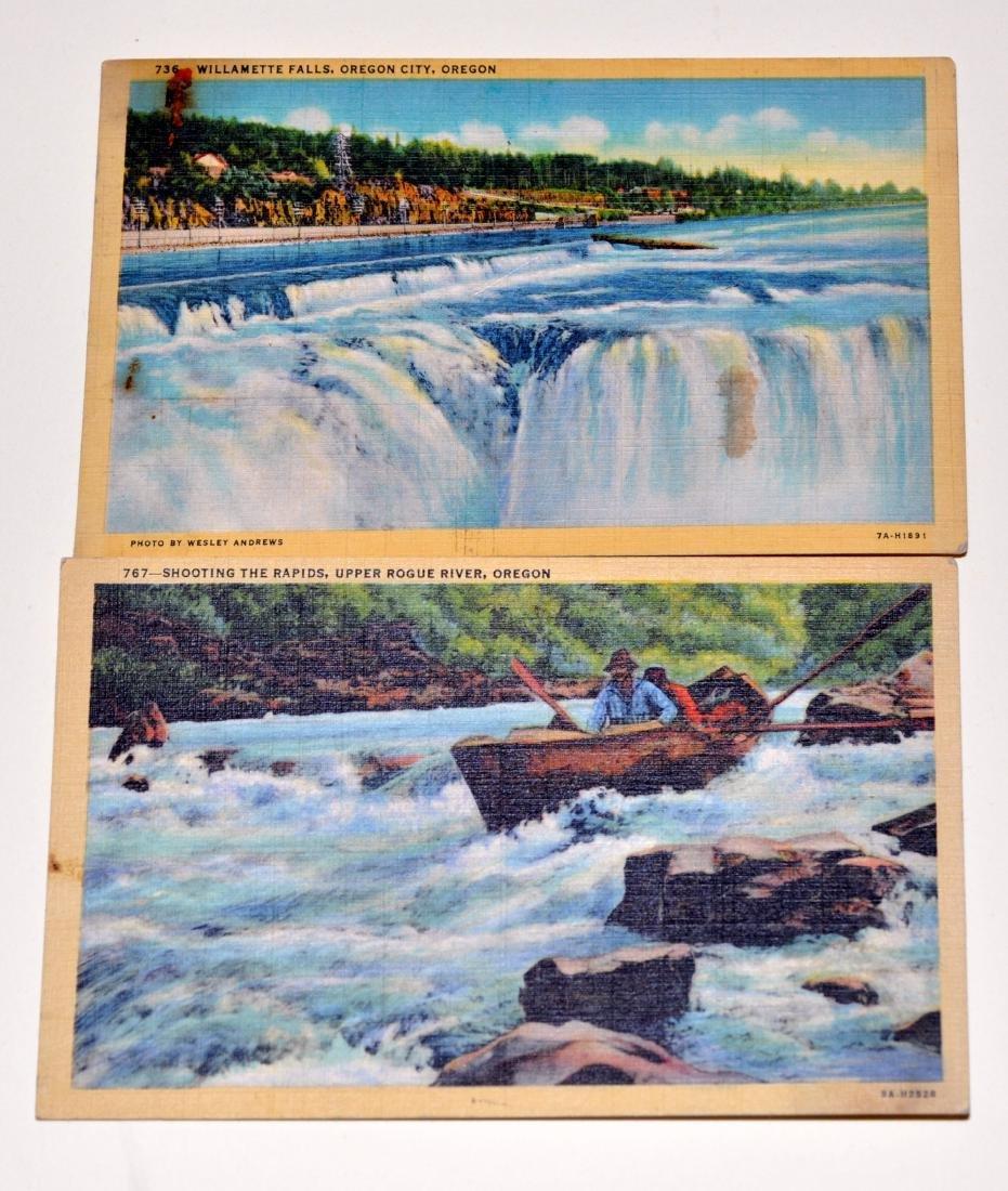 Oregon postcards-40's scenic - 5