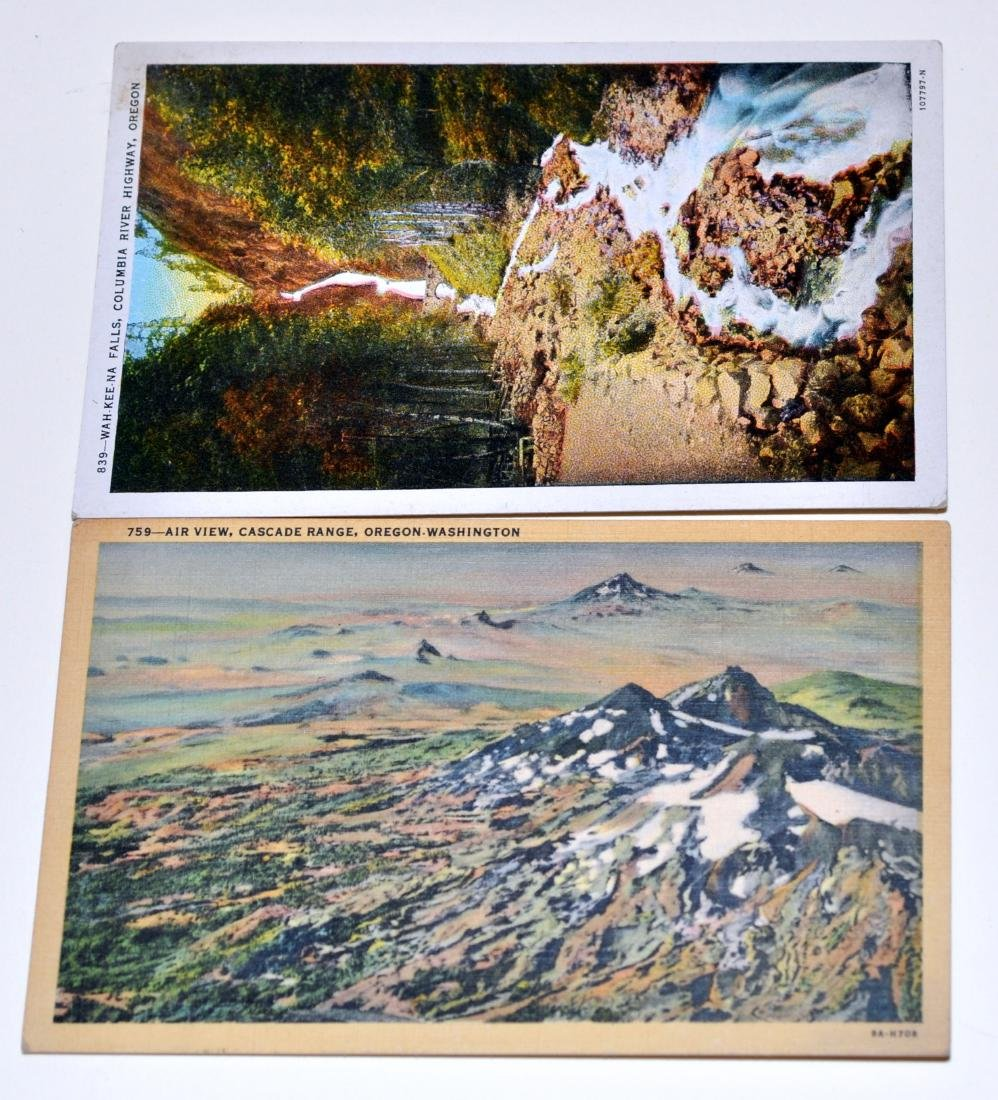 Oregon postcards-40's scenic - 6