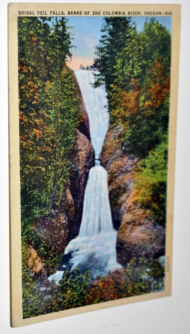 Oregon postcards-40's scenic - 7