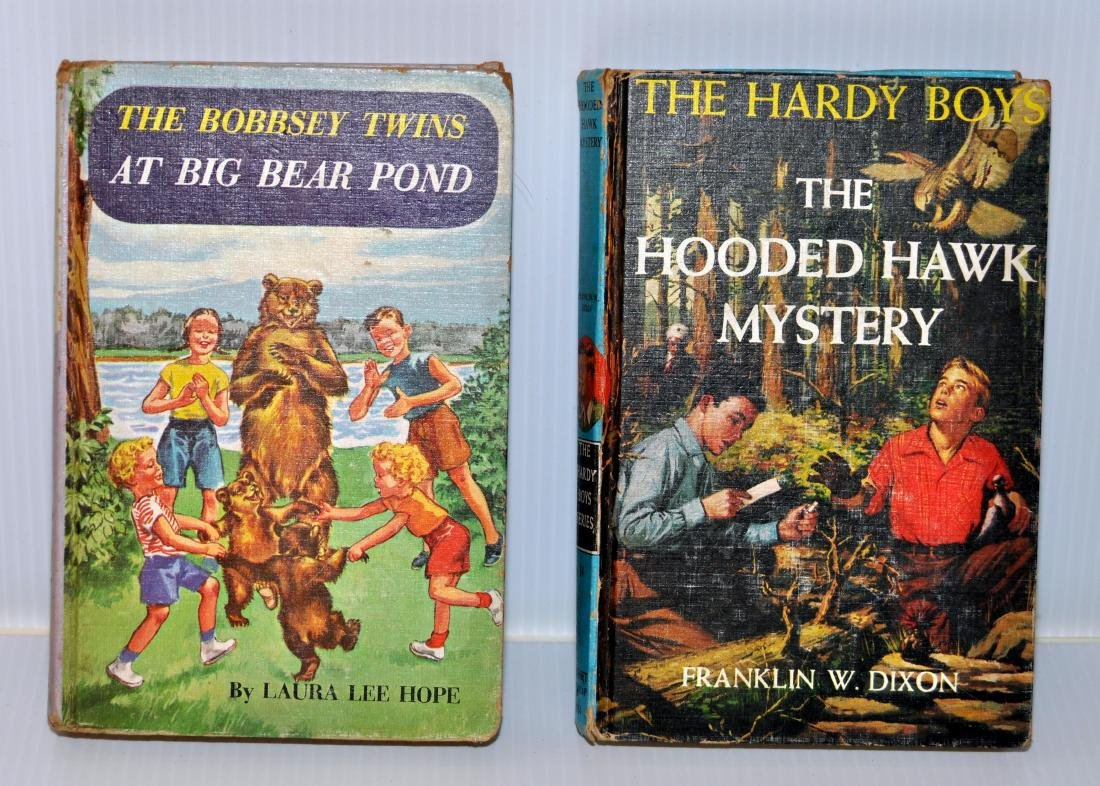 Hardy Boys - Bobbsey Twins books