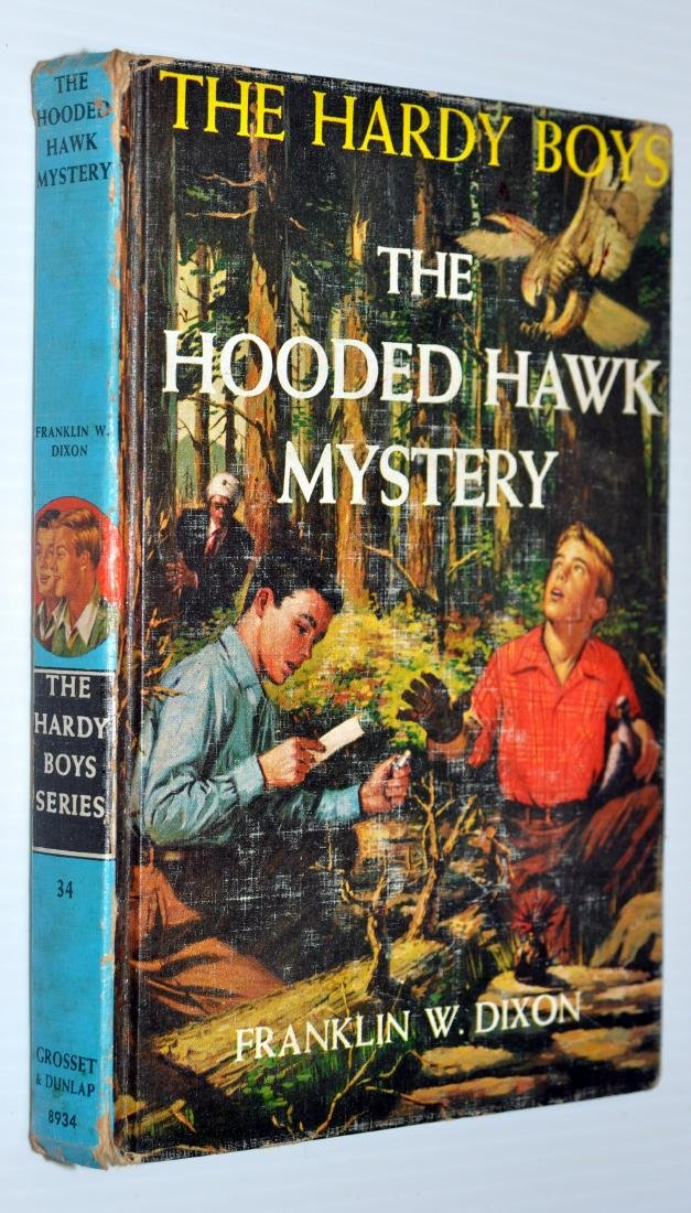 Hardy Boys - Bobbsey Twins books - 2
