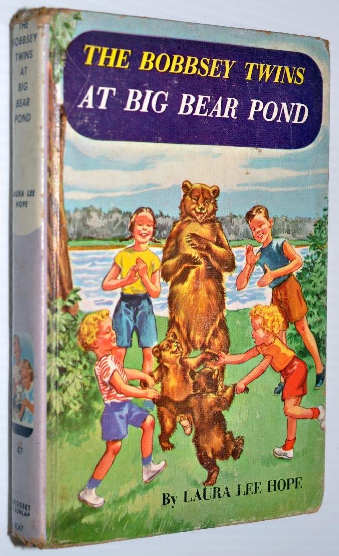 Hardy Boys - Bobbsey Twins books - 3