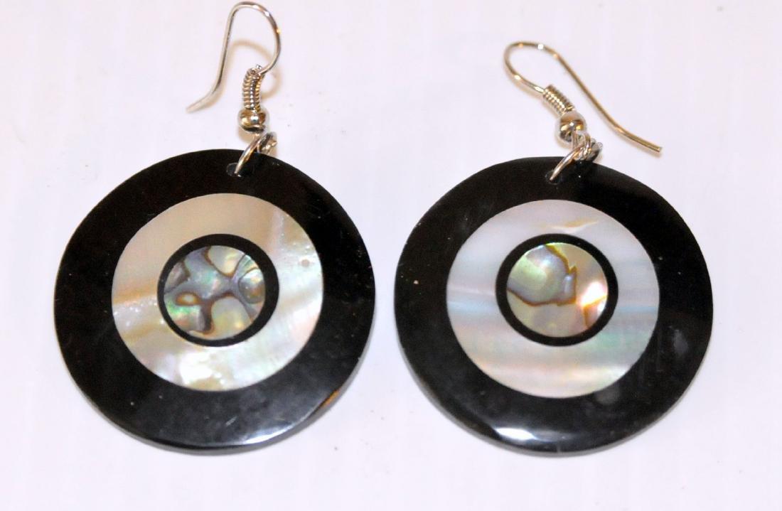 Abalone MOP earrings