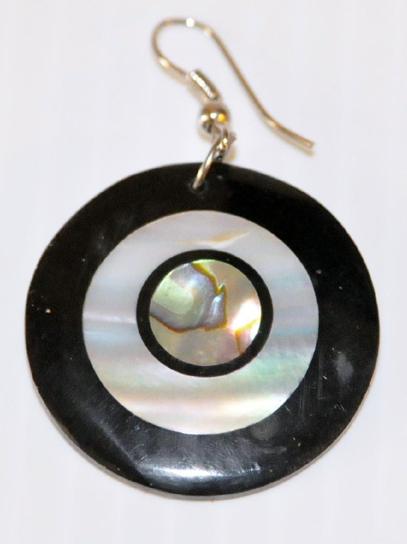 Abalone MOP earrings - 2