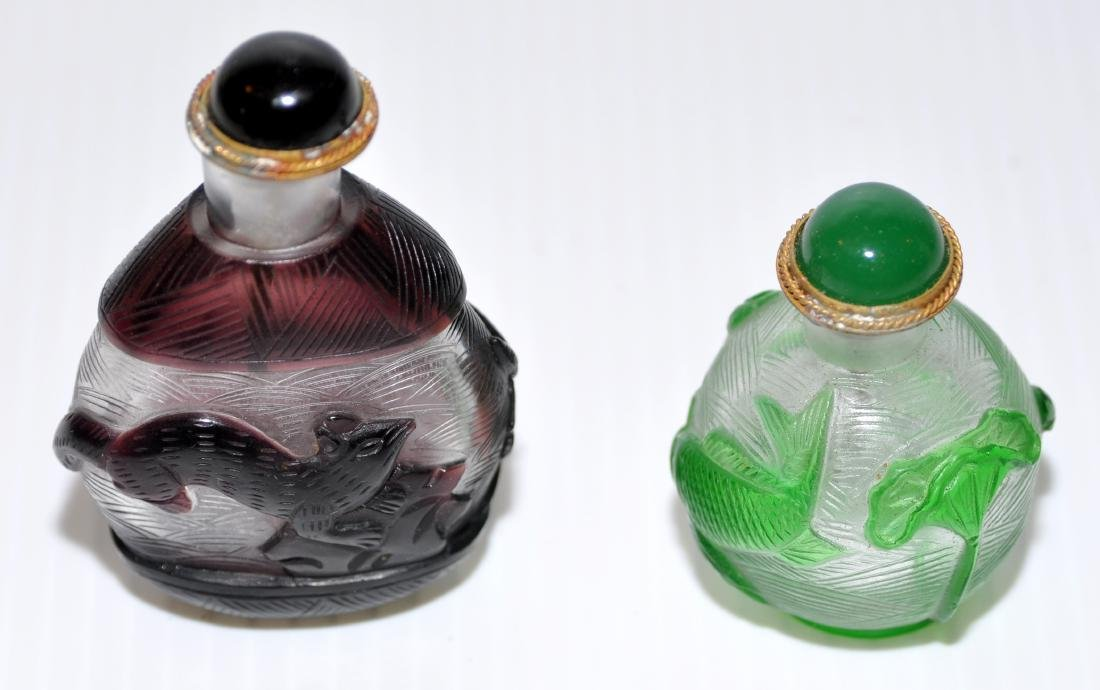 Peking glass snuff bottles