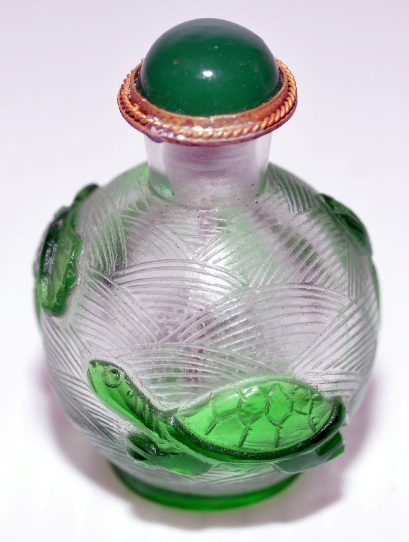 Peking glass snuff bottles - 2